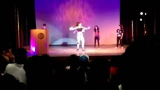 Girls Dance Battle at Rendezvous 2016 IIT Delhi (Round1) | Tanya Chamoli