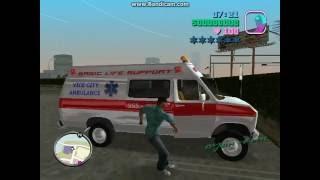 Gta Vice Sity Deluxe! Ambulance vs Police!