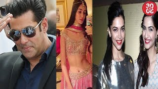 Salman Khan To Launch Ananya Pandey | Sonam Kapoor Mistaken As Deepika Padukone