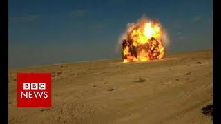 The village built from missiles - BBC News