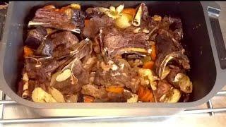 مطبخ الاكلات العراقية - لحم مشوي بالخضروات