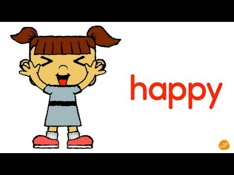 Feelings and Emotion Chant Adjectives for Kids by ELF Learning