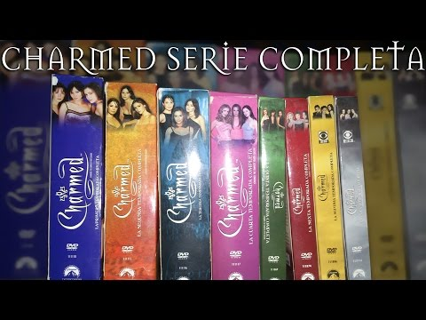 COMPRA UNBOXING CHARMED SERIE COMPLETA DVD