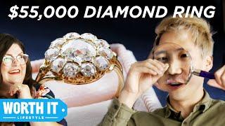 $1,065 Engagement Ring Vs. $55,000 Engagement Ring