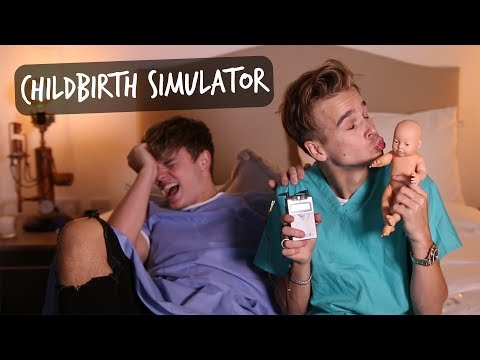CHILDBIRTH SIMULATOR CHALLENGE ft JACK MAYNARD