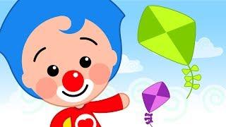 Kites in The Sky - Plim Plim   Animated Series   The Children