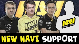 New NaVi support playing with team — Velheor