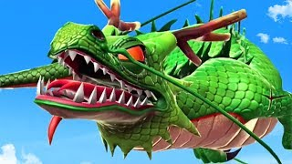 PLAYING AS SHENRON - Hungry Dragon Gameplay Part 6 | Pungence