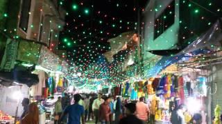 Eid market at Jhenidah town
