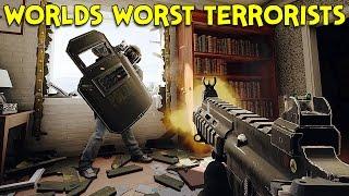 WORLDS WORST TERRORISTS? - Rainbow Six Siege