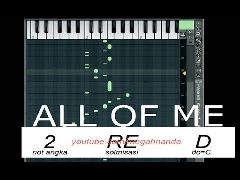 Solmisasi | Not Angka Lagu All of Me