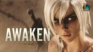 Awaken (ft. Valerie Broussard) | League of Legends Cinematic - Season 2019