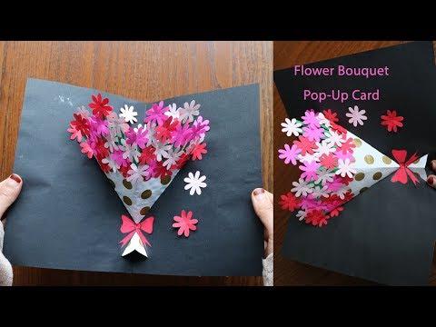 Xxx Mp4 DIY Flower Bouquet Pop Up Card Paper Crafts Handmade Craft 3gp Sex