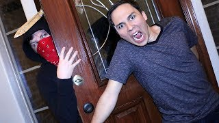 BREAKING INTO RYGUYROCKY'S HOUSE!! (CRAZY) 😀😟