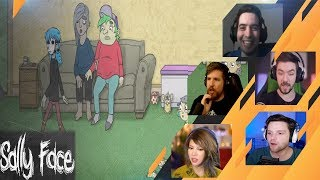 Gamers Reactions to Chug and Maple | Sally Face