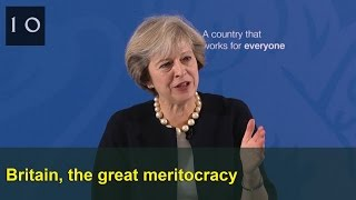 Britain, the great meritocracy: Prime Minister