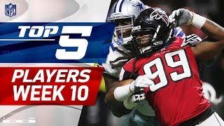 Top 5 Player Performances Week 10 | NFL Highlights
