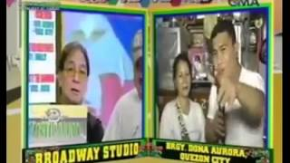 Pinoy Channel 365 -Jose Manalo doing a Willie Revillame impersonation