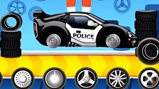 Police car - A funny Dream Cars Factory | Cartoon about Cars
