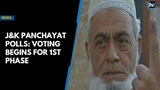 J&K Panchayat polls: Voting begins for 1st phase