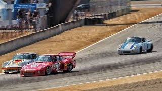 Adam Carolla Races Porsche 935 at Monterey Historics (2017) - CarCast with Adam Carolla