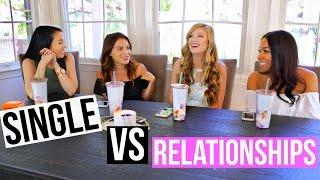 Being Single VS Relationships! #TeaTalk w/ Carrie Rad + Madison89Miller + Tana Montana