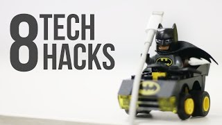 8 Cool Tech Life Hacks You Didn't Know (2017)