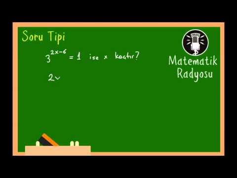 Üslü Sayılar Soru Tipi 2