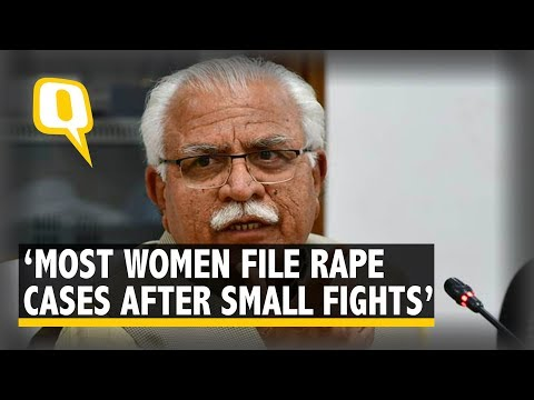 Xxx Mp4 Haryana CM Khattar On Rapes Women File Cases Following Small Fights The Quint 3gp Sex