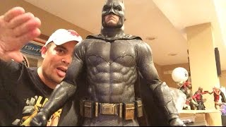 Episode 55 - HOT TOYS Batman V Superman UNBOXING and REVIEW, and my DC Hot Toys collection