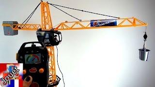 Grue en jouet Dickie gigantesque grue 203462411 Giant Crane Construction & Démo