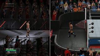 WWE 2K17 - Jason Jordan vs Chris Jericho  ✦ 【New Submission System】