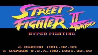 Street Fighter II Turbo Snes Music - Ken Stage