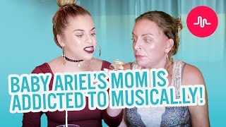 Baby Ariel's mom is addicted to musical.ly! | Baby Ariel, Jacob, Sharon, and Jose