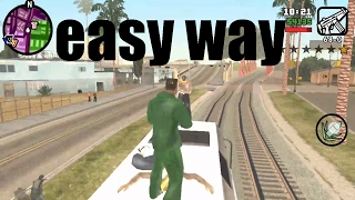 GTA San Andreas Wrong Sides Of The Tracks EASIEST WAY! (android)