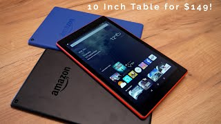 Amazon Fire HD 10 Full Review & Unboxing Camera Test Gameplay