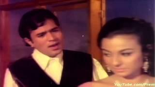 O Mere Dil Ke Chain HD With Lyrics - Rajesh Khanna & Tanuja