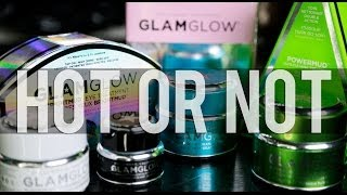 NEW GLAM GLOW MASKS | Hot or Not