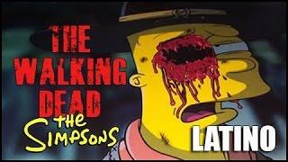 The Walking Dead en los Simpsons Audio Latino HD