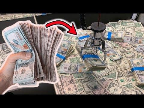 HACKED the CASH CLAW MACHINE WON REAL MONEY JOYSTICK