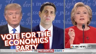 Vote for The Economics Party- Clifford vs Trump & Clinton