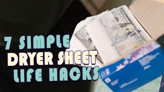 7 Cool Ways To Use Dryer Sheets