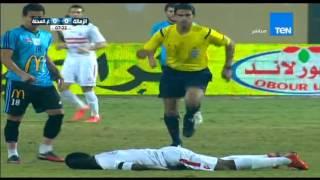 مباراة الزمالك  VS  غزل المحلة   5 / 0 ...... الدورى المصرى 2015 - 2016