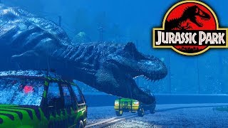 Amazing Fan Made Jurassic Park Game! | T-Rex Breakout (Free Dinosaur Game)