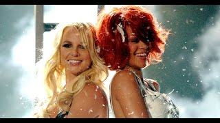 Rihanna ft Britney Spears S & M [live at the 2011 billboard music awards] HD