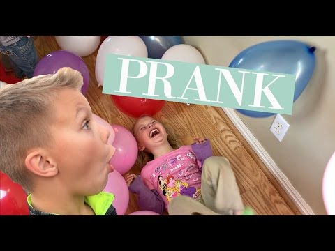 CRAZY BALLOON PRANK