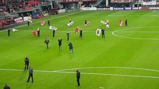 Afscheid Markus Henriksen - AZ- Feyenoord 11 december 2016