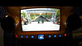 Typhoon Arcade Game Motion Theater Deluxe: Mad Wave 3D Ride Simulator With 2G Of Acceleration!