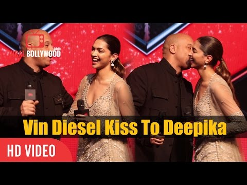 Xxx Mp4 Vin Diesel Kiss To Deepika Padukone Vin Diesel Visit To India XXX Return Of Xander Cage 3gp Sex