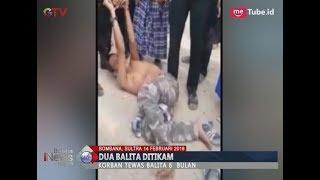 [Video Amatir] Detik-detik Polisi Tembak Pelaku Penikaman 2 Anak Kakak Beradik - BIM 14/02
